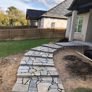 concrete services, outdoor living spaces <br/> college station, tx
